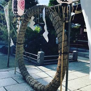 スサノオ神社茅の輪