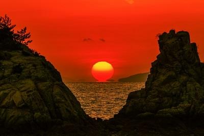 夕日サンセット
